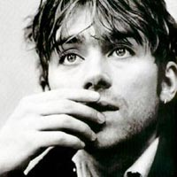 damon albarn, damon albarn black white, damon albarn hair