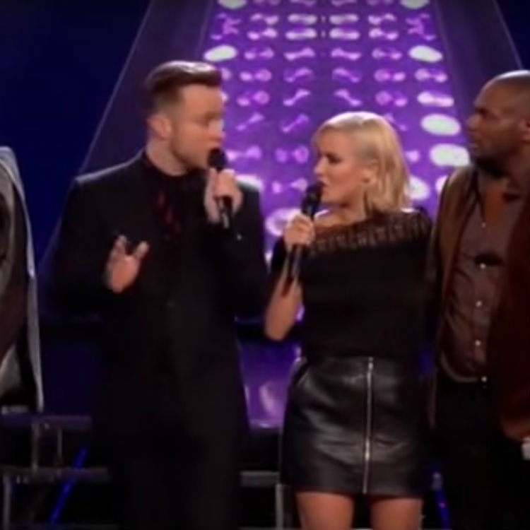Olly Murs makes X Factor results blunder, Caroline Flack steps in
