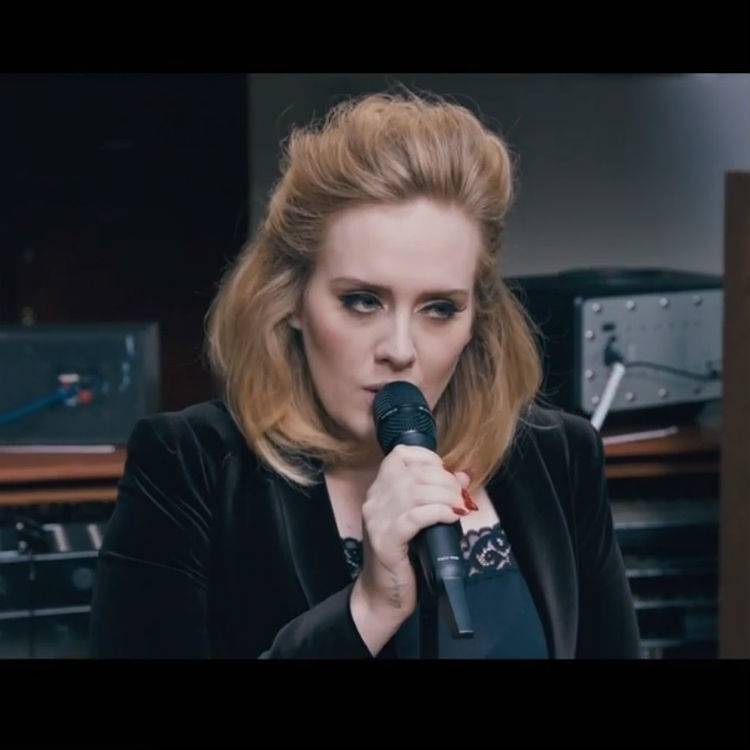 Adele — When We Were Young (studio acapella)