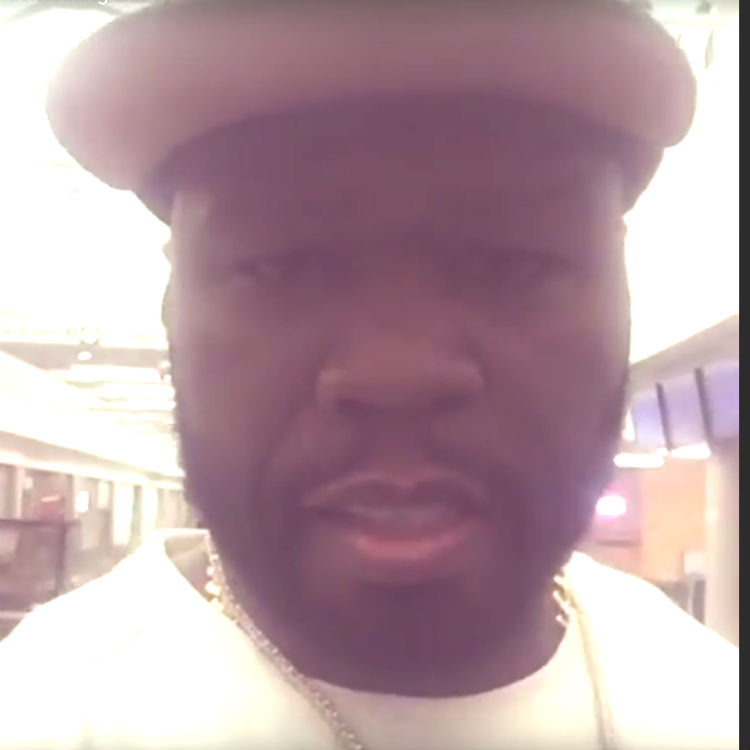 50 Cent video mocking disabled airport janitor on Twitter