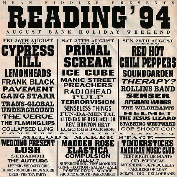 Reading & Leeds line-up - every poster in history - 1989 to 2016