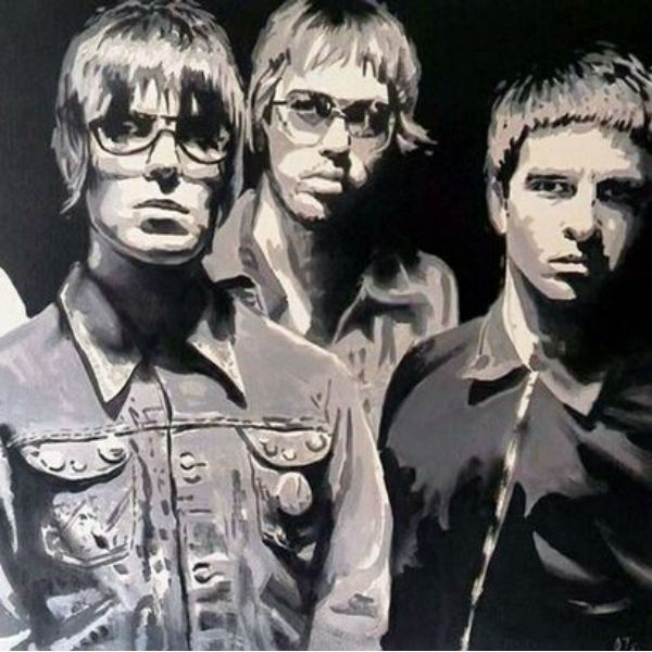 The Masterplan: fans steal Oasis painting in daylight raid