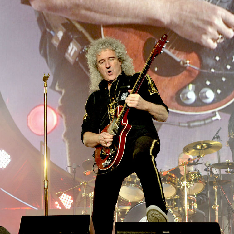 Queen Glastonbury headline slot, Brian May interested