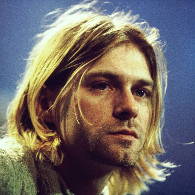 Kurt Cobain covers The Beatles And I Love Her