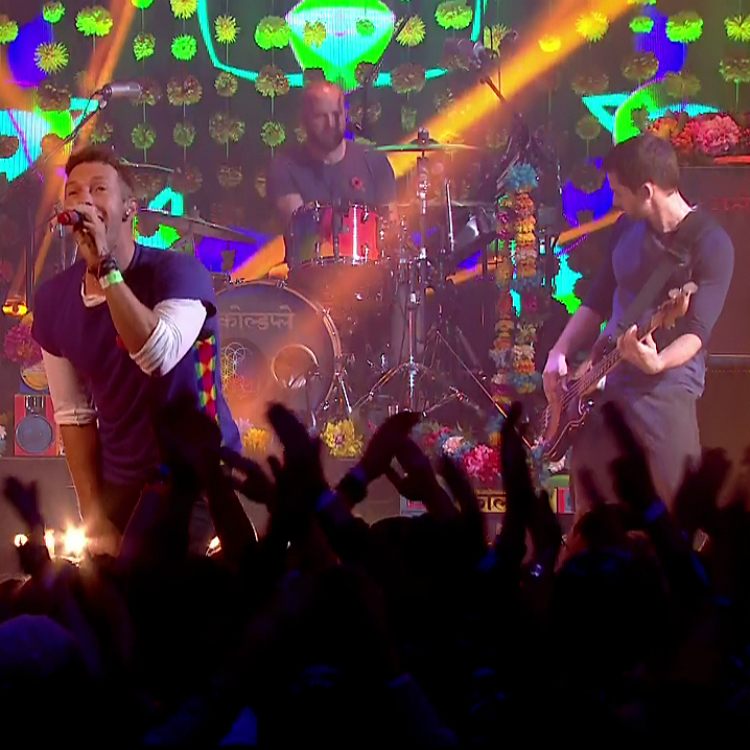 Coldplay Hackney show before 2016 tour for A head Full Of Dreams
