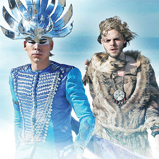 Empire Of The Sun: 'Daft Punk are mystery masters'
