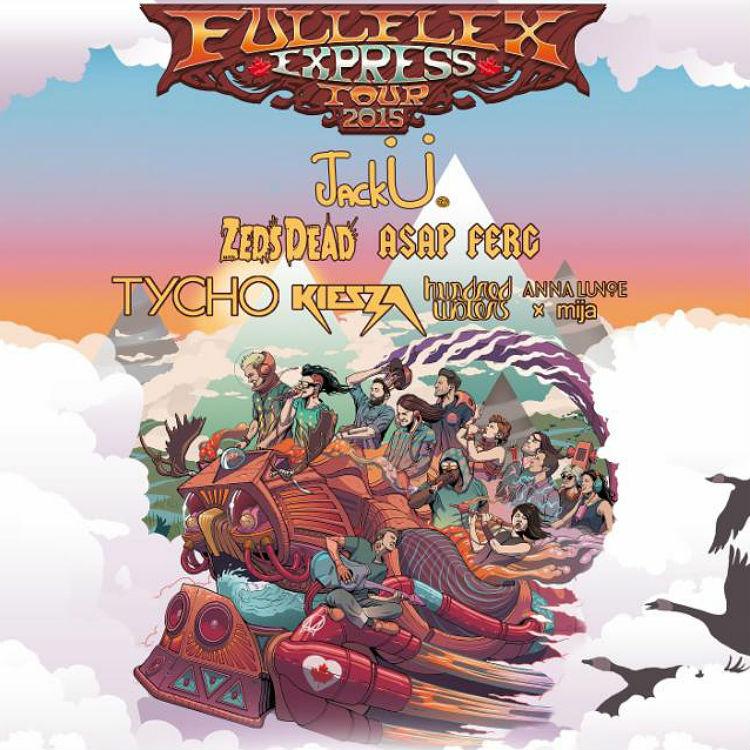 Skrillex and Diplo's Jack U to headline Full Flex Express Train Tour