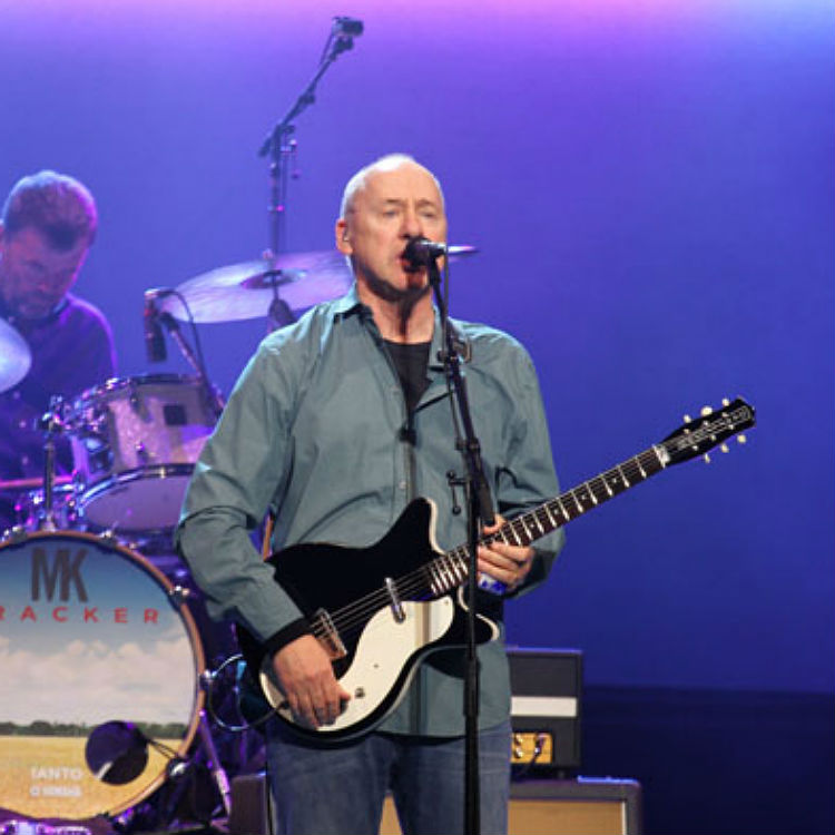 Mark Knopfler of Dire Straits performs at Royal Albert Hall