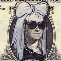 Lady Gaga Morphs With George Washington On US Dollar Bills
