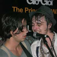 The Libertines' Carl Barat And Pete Doherty Reunite In London
