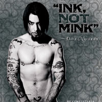 Dave Navarro Gets Naked For Animals