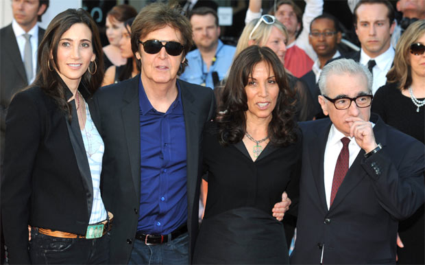 Sir Paul McCartney Was Joined By His Fiance Nancy Shevell At The Film Premiere