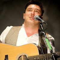 Mumford & Sons play surprise gig at pensioners party