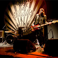 Band Of Skulls Support The Black Keys In Manchester