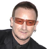 U2's Bono Blogs For New York Summit