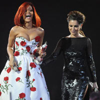 Cheryl Cole Confirms Rihanna Duet