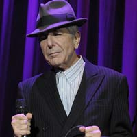 Leonard Cohen 2012 world tour dates announced