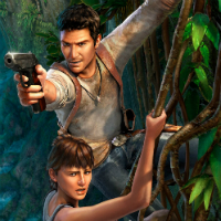 Harrison Ford Plays Uncharted 3 In Japanese Advert