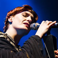 Friday, 09/03/12 Florence & The Machine/The Horrors @ London, Alexandra Palace