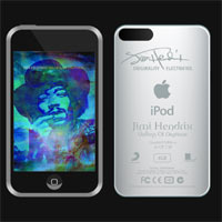 Win An iPod Touch Signed By Jimi Hendrix!!!