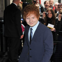Ed Sheeran recording with Taylor Swift in Los Angeles