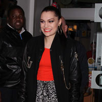 Jessie J Gets 'Who You Are' Lyrics Printed On Her Baseball Jacket