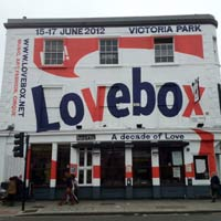 Camden Barfly gets Lovebox festival makeover