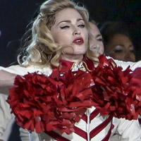 Madonna demands 'right height' flowers on MDNA tour
