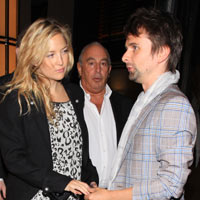 Muse's Matt Bellamy And Kate Hudson Dine With Jamie Hince And Kate Moss