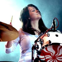 White Stripes' Meg White To Auction Drum Kit