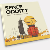 David Bowie's 'Space Oddity' Transformed Into Children's Book