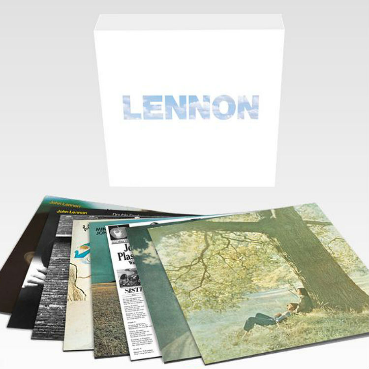 John Lennon's solo albums to be released in vinyl box set
