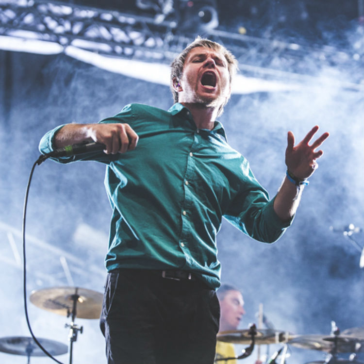 Enter Shikari thrill the crowd at Lowlands Festival