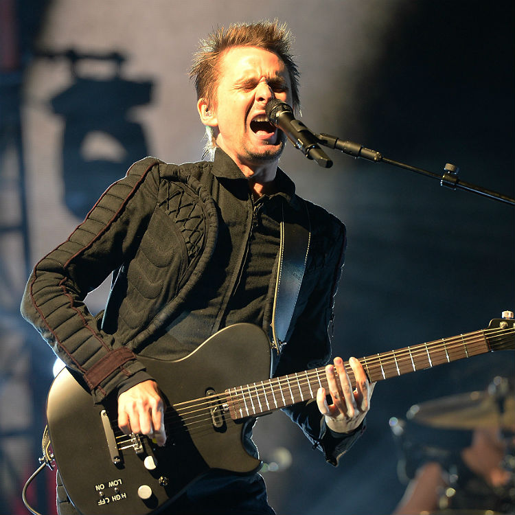 Muse showcase new album Drones at BBC Radio 1 Big Weekend