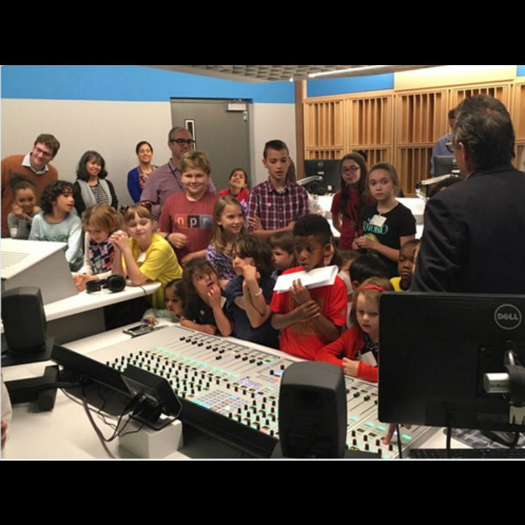 NPR Radio shuts down for minute for bring your kids to work day