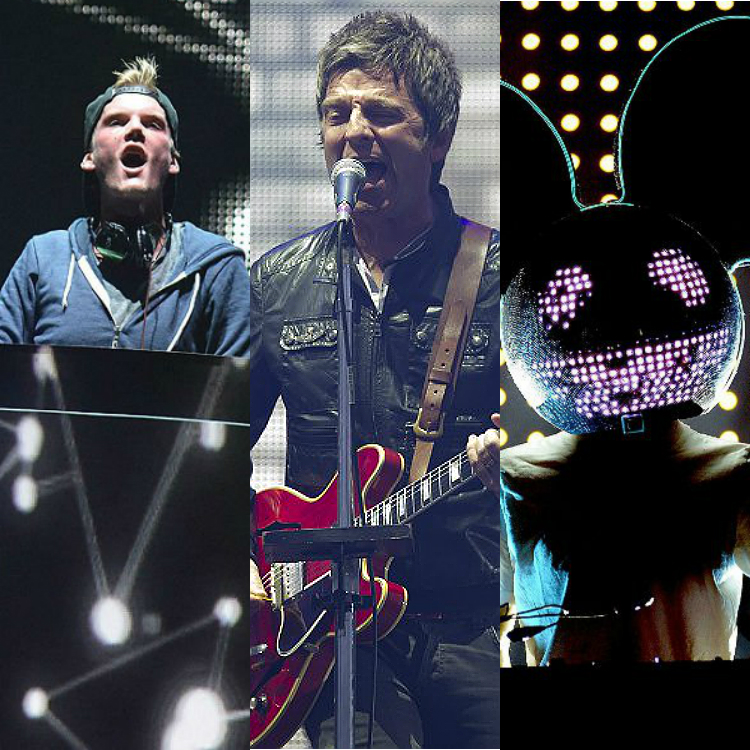 Avicii and Deadmau5 take shots at Noel Gallagher