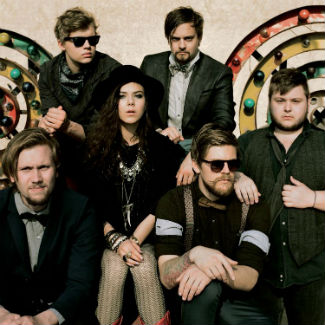 Hanging out backstage with Of Monsters and Men at Reading Festival