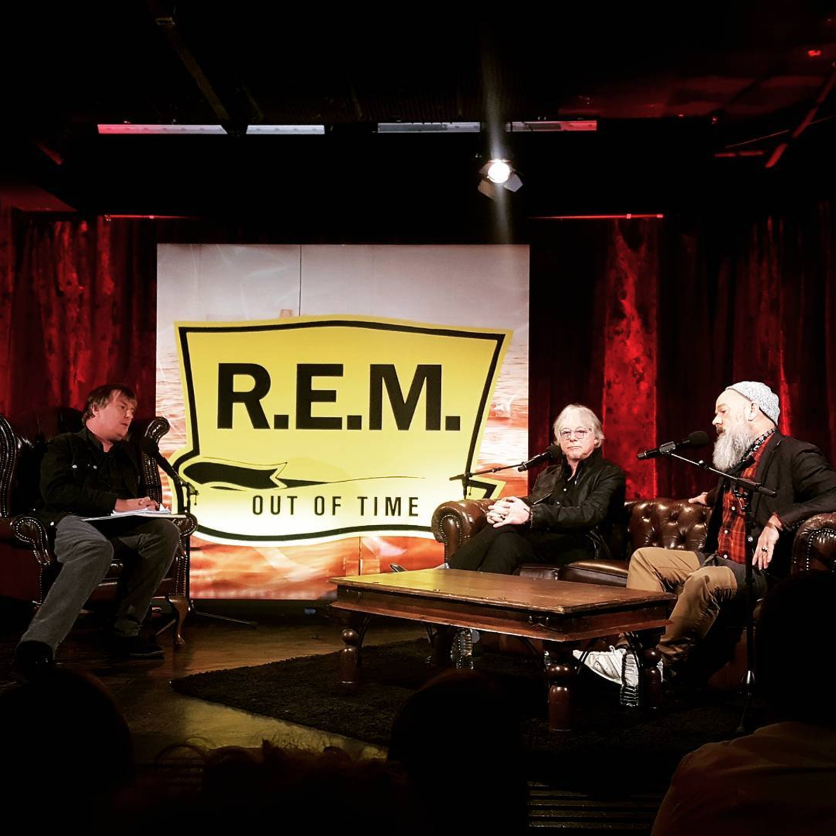 R.E.M Michael stipe mike mills out of time 25th anniversary borderline