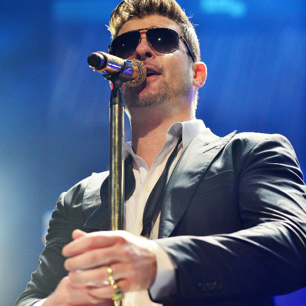 Robin Thicke named 'sexist of the year' in new poll