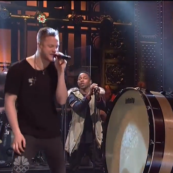 Watch: Kendrick Lamar & Imagine Dragons perform together on SNL