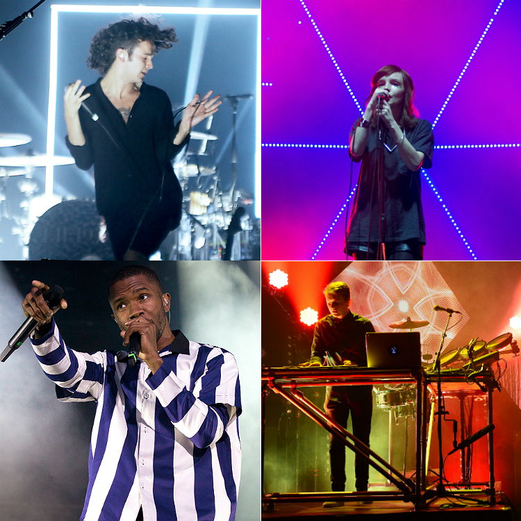 16 second albums coming soon - The 1975, Chvrches, London Grammar
