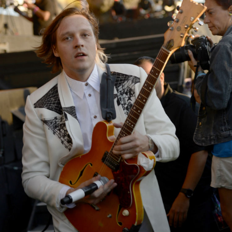 Arcade Fire David Bowie tribute parade in New Orleans
