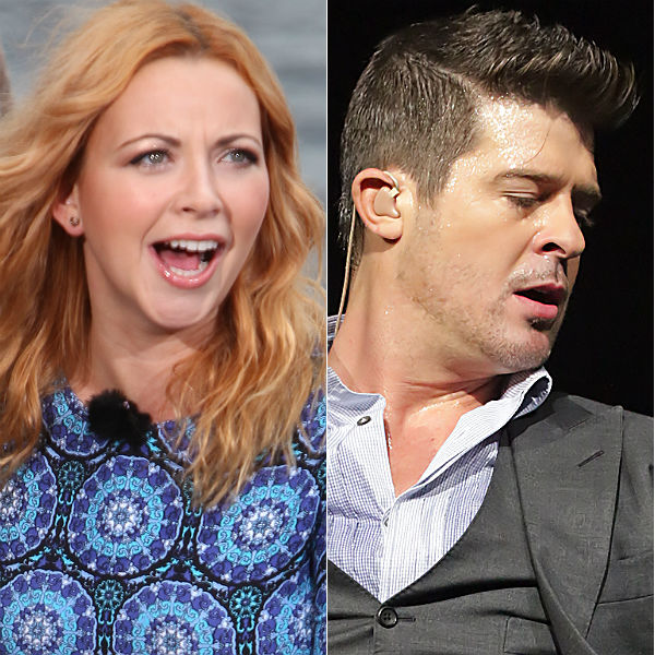 Charlotte Church slams Robin Thicke: 'He is a mediocre artist'