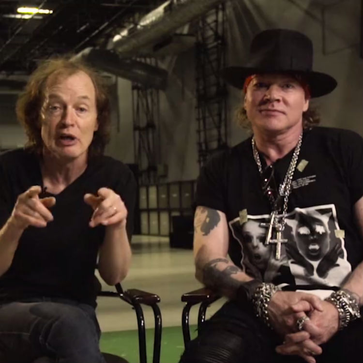 Axl Rose awkward video with ACDC, UK tour dates 2016