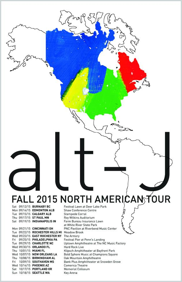Alt j tour dates in Brisbane