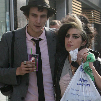 Amy Winehouse ex denies being responsible for her death