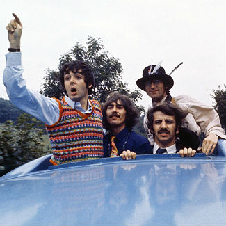 Photos: unseen Beatles Magical Mystery Tour shots