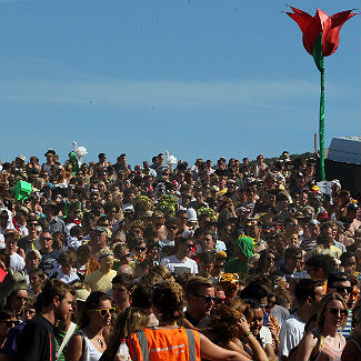 Three die in bus crash on return from Bestival
