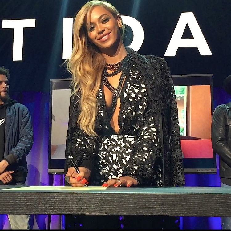 Beyonce's music may be removed from Tidal according to reports