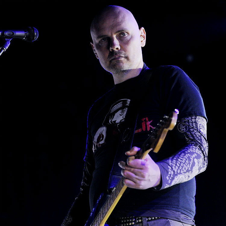 Smashing Pumpkins Billy Corgan photo on Disneyland theme park ride
